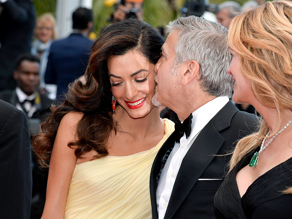 Inside George and Amal Clooney's Romantic (and Delicious) Trip to Cannes : People.com
