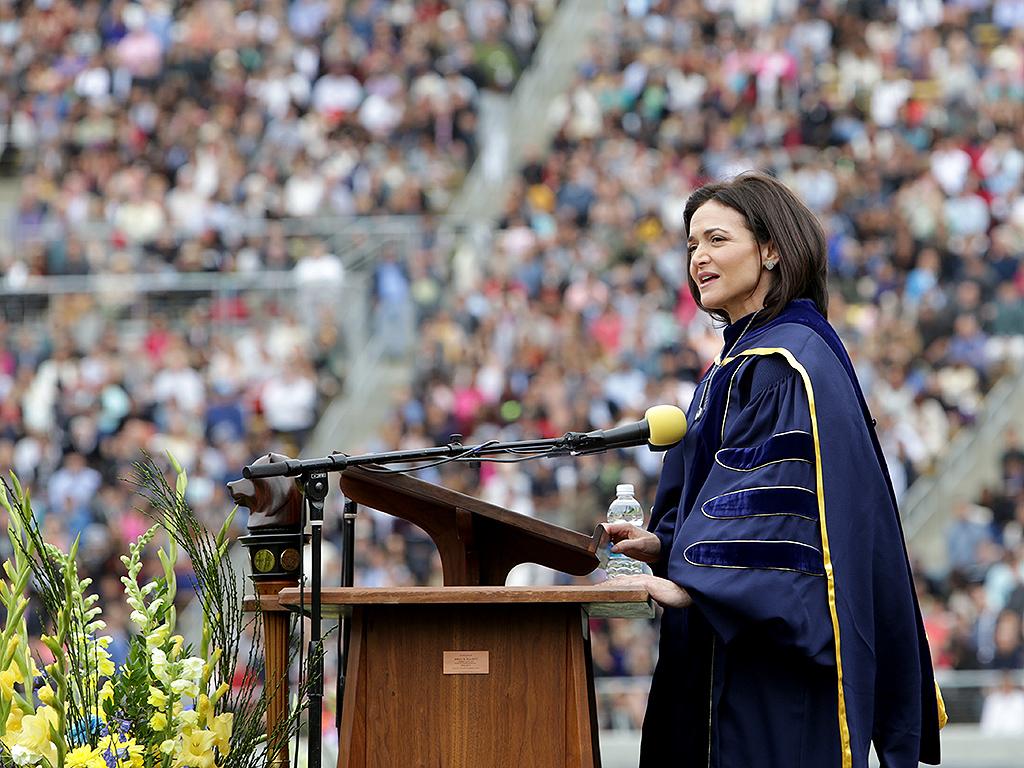 Sheryl Sandberg's UC Berkeley Commencement Speech : People.com