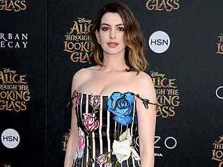 WATCH: Why Did Anne Hathaway Compare Alice Through the Looking Glass to a Spinach Brownie?