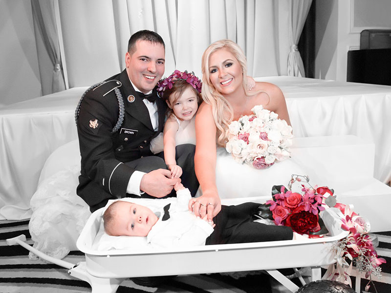 Iraq War Veteran and Mom to Special Needs Son Receive Free Dream Wedding