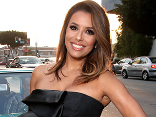 FROM EW: Who Is Eva Longoria Threatening to Spank?!