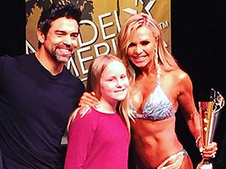 Muscle Mania! Tamra Judge Wins Her First Fitness Competition