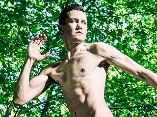 Transgender Duathlete Chris Mosier Poses Nude for ESPN's Body Issue: 'I Feel Very Comfortable in My Own Skin'