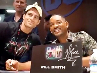 Superman Is that You? Henry Cavill Pranks Will Smith with Very Convincing Comic-Con Disguise