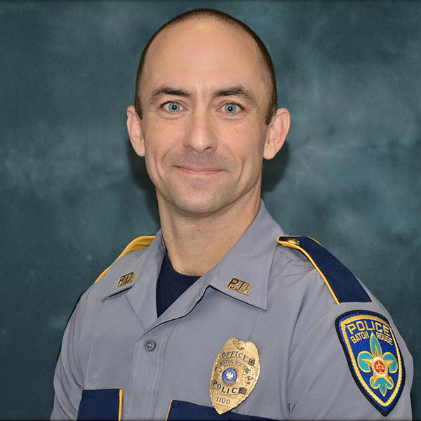 Funeral Services Held for Fallen Baton Rouge Police Officer Matthew Gerald: 'My Blue-Eyed Rock Was a Hero'