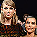 A Timeline of the Complicated Relationship Between Taylor Swift and Kim Kardashian West