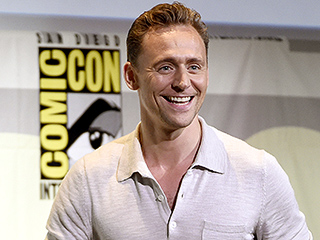 Tom Hiddleston Attends Comic-Con After Trip Down Under with Taylor Swift