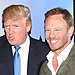 Ian Ziering on What He Learned from Donald Trump: 'You Can't Really Argue with Him'