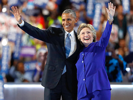 President Obama Passes The Torch: 'Never A Man Or Woman – Not Me, Not Bill, Nobody – More Qualified Than Hillary Clinton'
