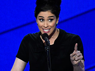 Revolt at the DNC: Sarah Silverman Scolds Sanders Supporters for Booing, 'You're Being Ridiculous'