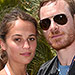 Alicia Vikander and Michael Fassbender Open Up About Their Private Off-Screen Romance