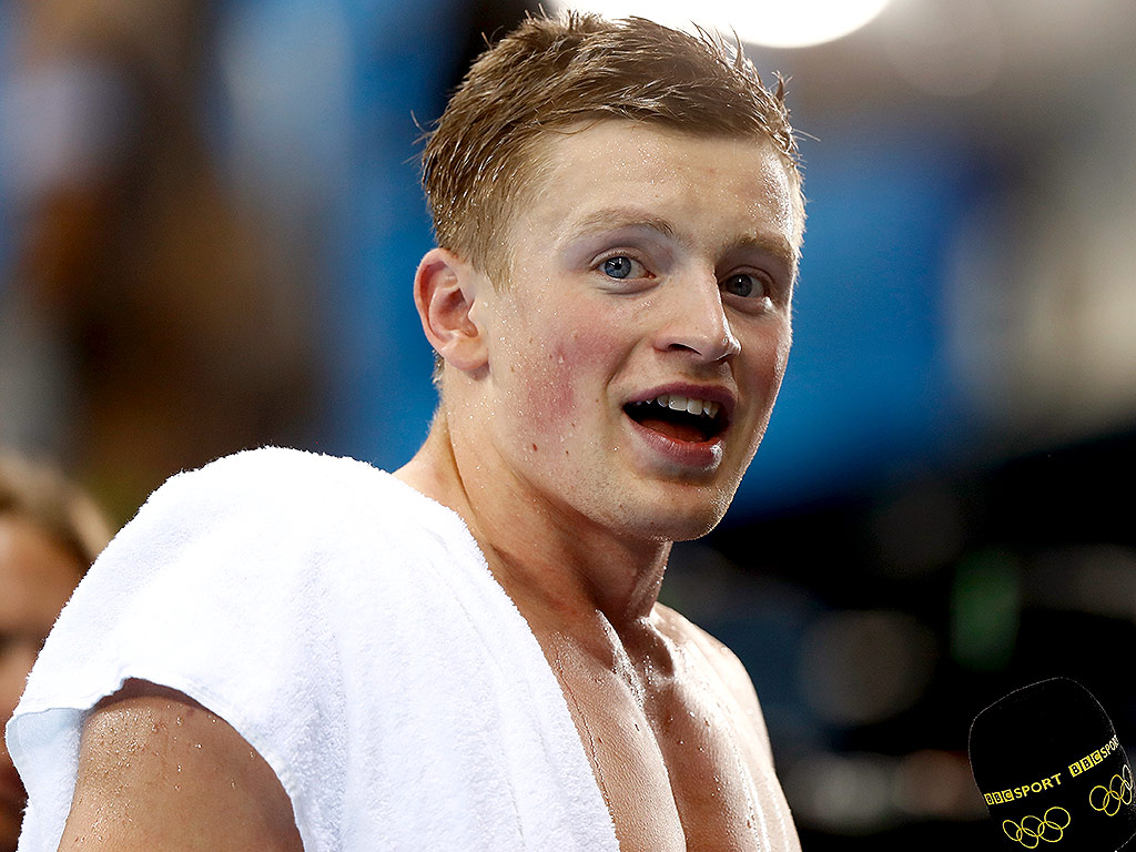 Adam Peaty is from