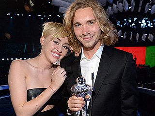 Miley Cyrus' Homeless Date from the 2014 VMAs is Selling His Moonman Statuette on eBay