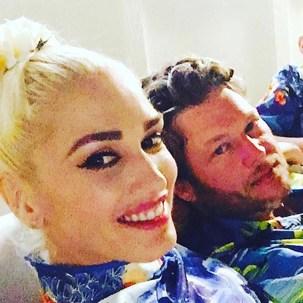 Gwen Stefani and Blake... Gwen Stefani Instagram