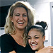 Laurie Hernandez Can't Keep Her Cool When She Has a Surprise Meeting with Tori Kelly