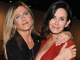 Courteney Cox Defends Jennifer Aniston Amid Angelina Jolie and Brad Pitt's Divorce: 'It's Not About Her'