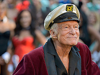 Hugh Hefner Squashes Rumors That He's 'Sick' – and Enjoys Movie Night with Wife Crystal!