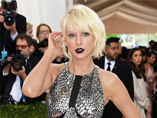 Taylor Swift Sizzles in Sexy Silver Mini and Lace-Up Sandals at the Met Gala: See It from Every Skin-Baring Angle!