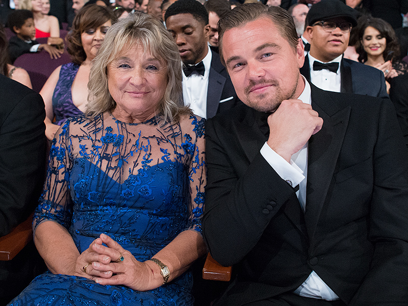 Oscars 2016: Leonardo DiCaprio Celebrates Win with Parents at Private Dinner