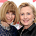 Hillary Clinton Consults Vogue's Anna Wintour for Fashion Advice on the Campaign Trail