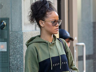 Rihanna Breaks Summer Dress Code in Puffer Coats and Tracksuit