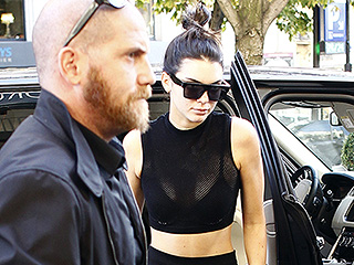 Better Late Than Never! Kendall Jenner Finally Made It to Paris Fashion Week