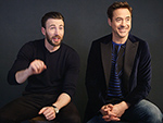 Real Life Superhero! Robert Downey Jr. on Helping Chris Evans Heal After Captain America: Civil War On-Set Injury