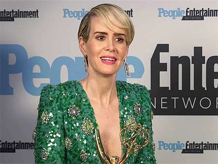 WATCH: Sarah Paulson on Having Marcia Clark as Her Emmys Date: 'I'm Honored to Know Her'