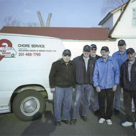 Chore Service volunteers