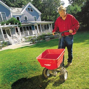 toh tv landscape contractor roger cook seeding a lawn