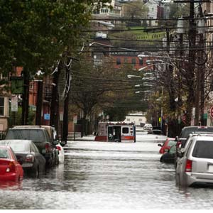 Superstorm Sandy, hurricane sandy, hoboken, nj, flooding