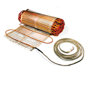 Electric heat what is radiant electric heat for Electric radiant heat thermostat