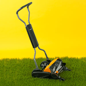 fiskars stay sharp max reel mower, before you buy a reel mower