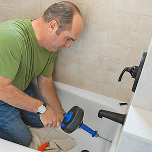tackle a slow draining bathtub tubs bathroom this old house