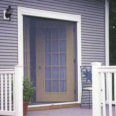 Overview How To Install A Retractable Screen Door This