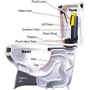 leaky toilet repair, step-by-step