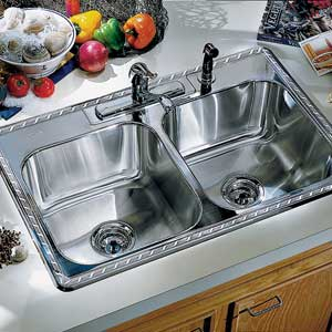 Decorative Etched Sink