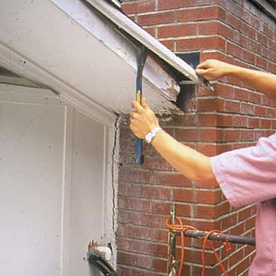 How to Repair a Rotted Soffit This Old House
