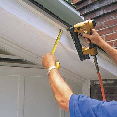 Attach Shingle Mold How To Repair A Rotted Soffit This