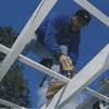 Step 7: Fasten the lattice strips to build an arbor
