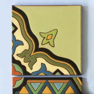 Patio Patterns art tile