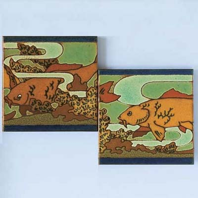 RTK Studios fish art tile