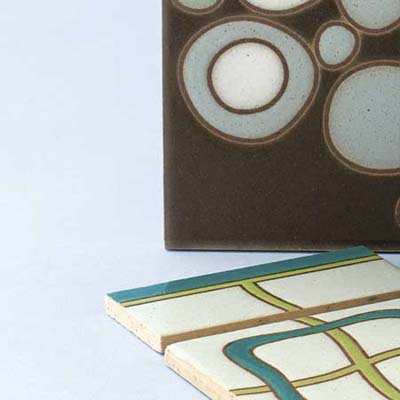 Ann Sacks geometric art tile