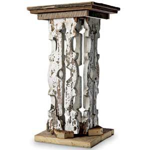 baluster pedestal
