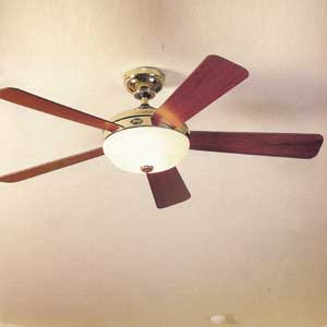 Lighted ceiling fan