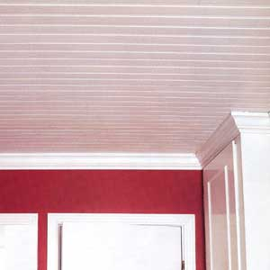 Sensational ceiling ceilings interior this old house How to cover old wood paneling