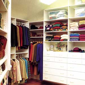 cluttered closets
