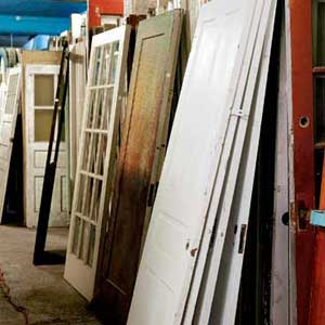 salvage yard doors
