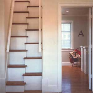 alternate stepping stairs interior this old house. Black Bedroom Furniture Sets. Home Design Ideas