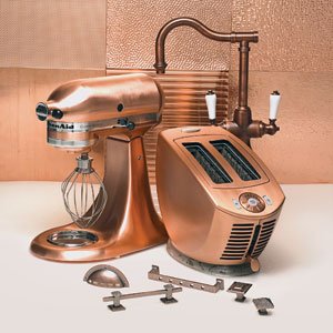 Copper Kitchen Liances